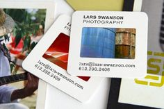最新資訊 的 Cool Photographer Business Cards Made Out of 35mm Slide Film Mounts - Lomography