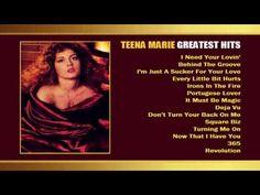 TEENA MARIE Greatest Hits - YouTube  lover her music  hot love songs joanne marie habayeb ...