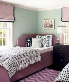 Fresh Perspective Mint Green Bedroom