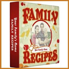 Recipe Cookbook Binders to organize all those family favorites!