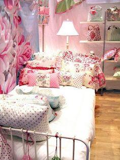 Floral bedroom