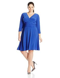 "Product review for NY Collection Women's Plus-Size Three-Quarter-Sleeve B Slim Dress.  - Solid ITY V-neck 3/4 sleeve slim dress with ruching at waist   	 		 			 				 					Famous Words of Inspiration...""To teach how to live with uncertainty, yet without being paralyzed by hesitation, is perhaps the chief thing that philosophy can do.""					 				 				 					Bertrand..."