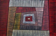 Aboriginal Artwork by Adam Reid. Sold through Coolabah Art on eBay. Cataogue ID 11246