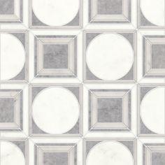 Talya Multi Finish 12x12 Cicero Al A D Marble Waterjet Mosaics