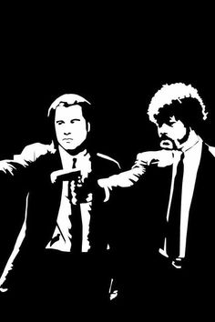 Quentin Tarantino - Pulp Fiction~ such a brilliant movie Quentin Tarantino Pulp Fiction, Tarantino Films, Movie Poster Art, Film Posters, Marvin, Film Serie, Cultura Pop, Cartoon Wallpaper, Great Movies