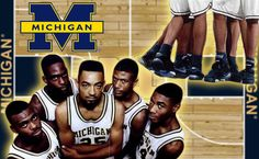 Michigan's Fab Five and their Nike's!