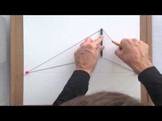 draw perspective with string - YouTube