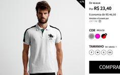 Camisa Polo RG 518 Piquet Bordado - Duas Cores Disponíveis << R$ 2340 >>