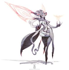 Lucila - Deathverse 01 by Zeronis on DeviantArt