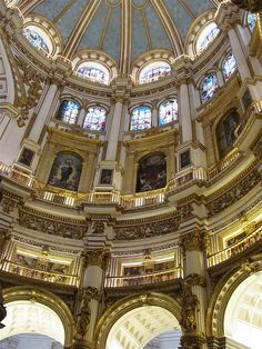 Catedral, Granada, Andalusia, Spain by rosinberg, via Flickr