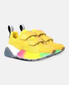 86c8f7a835e0  Eclypse Yellow Sneakers - Stella Mccartney 