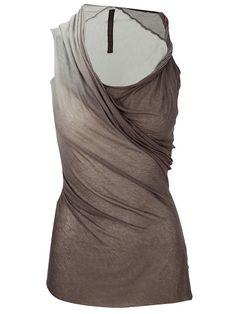 Women - All - Rick Owens Lilies Asymmetric - ombre grey - Korrin