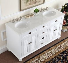 Bathroom Vanities, Charito Double Sink Bathroom Vanity Size With Large  Design Cool Carpet Design White Double Sink Art Bathroom Design Cool Scratch  And Dent ...