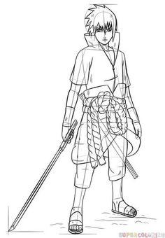 11 Meilleures Images Du Tableau Dessin Sasuke Sasuke