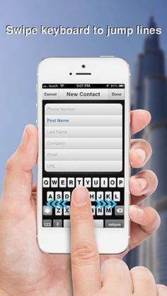 New Contacts App For iPhone Users