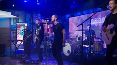 """Pop rock band OneRepublic stopped by Studio 1A and performed their new song """"Kids"""" from their upcoming album, """"Oh My My."""" The single reached No. 1 on Billboard's Bubbling Under Hot 100 Singles list in the U.S."""