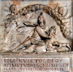 For the Romans, the cult of Sol Invictus or 'Undefeated Sun' was supreme. Roman Emperor Constantine adhered to it so much that even when he embraced Christianity, he changed the day of Sabbath from Friday to SUN-day!!