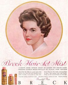 Image result for vintage hair colour advert