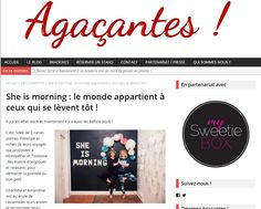 Les Agaçantes - Décembre 2015 http://lesagacantes.com/2015/05/21/she-is-morning-le-monde-appartient-a-ce-ceux-qui-se-levent-tot/