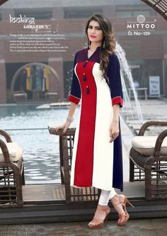Salwar Designs, Kurti Neck Designs, Kurti Designs Party Wear, Blouse Designs, Indian Designer Outfits, Indian Outfits, Designer Dresses, Designer Kurtis, Kurti Sleeves Design