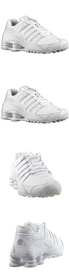 c3703c2ad340 Men Shoes  Mens Nike Shox Nz Sneakers White Shoes Size 10.5 Running Leather  378341 128 New BUY IT NOW ONLY   84.15