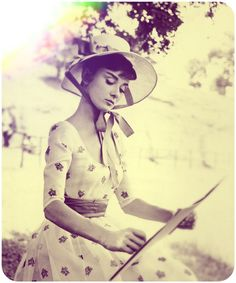 Audrey Hepburn - yeah its a repin whatever