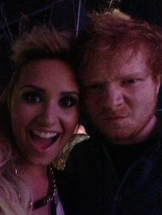 Divos Ed e Demi Love!!!