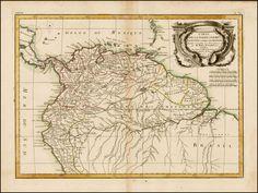 Carte De La Terre Ferme de la Guyane et du Pays des Amazones . . . 1772 - Barry Lawrence Ruderman Antique Maps Inc.