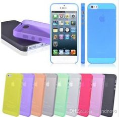 Wholesale – 10-200 Slim Transparent iPhone Case for 5/5S & 5C -Great For Resale
