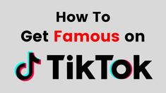 tik tok tips If you are using Tik Tok but not getting ers then must read How To Get Famous on Tik Tok Fast 2019 This will help you to grow your TikTok account fast
