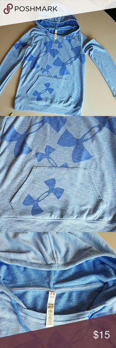 Under Armour Woman's Hoodie Great Condition. Soft Comfy Fleece Under Armour Tops Sweatshirts & Hoodies