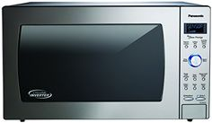 Look at this:  Panasonic NN SD975S CountertopBuilt In Cyclonic Wave Microwave with Inverter Technology