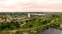 Aerial Photography of Quiet Waters Park (DJI Phantom 3 Professional)