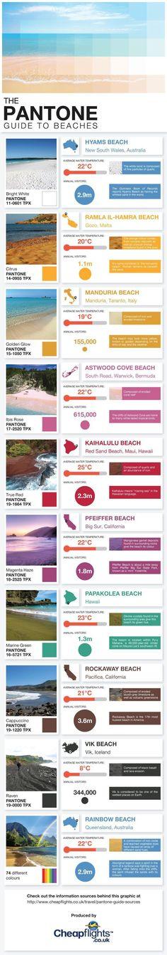 Pantone Guide To Beaches