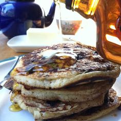 Almacucina: Sourdough Wild Blueberry Pancakes