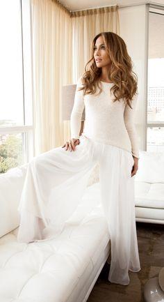 Wow in white all season long. #JenniferLopez #newarrivals #Kohls