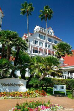 Hotel del Coronado, Coronado Island, San Diego, California #treasuredtravel been here