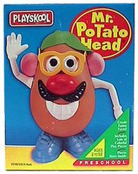 Hula Hoop 1950s Invention | Mr Potato Head surely is the King of all potatoes, having lasted 60 ...