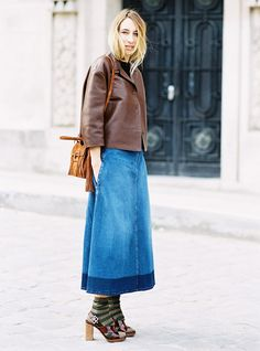 The Right Way to Wear Socks With Open-Toe Shoes via @WhoWhatWear