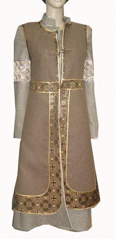 Yak wool Mongol garb
