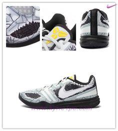 pretty nice 05d6f 25a9f Nero / gray 704942-003 Nike KB Mentality Baskets, New Basketball Shoes, Grey