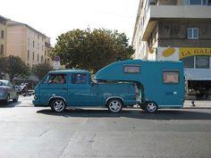 VW camper and caravan Volkswagen campervan kombi flatbed pickup. Source by teledandy and RV T3 Camper, Truck Camper, Camper Trailers, Camper Van, Mini Camper, Car Trailer, Vw T3 Syncro, Vw T1, Volkswagen Bus