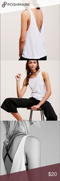 Free People ribbed swing tank Awesome layering swing tag by Free People. New with tags. Free People Tops Tank Tops
