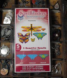Spellbinders Shapeabilities Butterflies by ThePaperPeddler on Etsy, $7.00