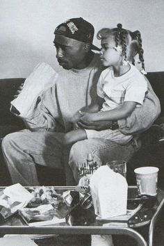 I loved seeing him portray a young, urban, working-class father in Poetic Justice.