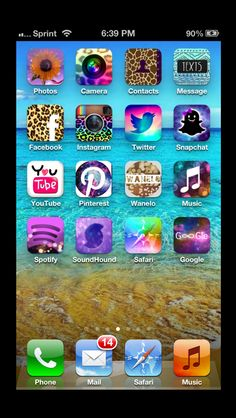 "Cool app! Get it! It's called ""CocoPPa"""