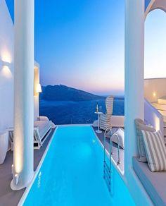 "soul-of-an-angel:  ""Perivolas Hotel • Santorini Island (Greece)  """