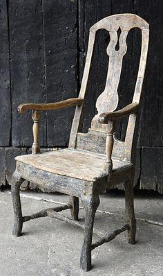 Swedish rococochair period 1770