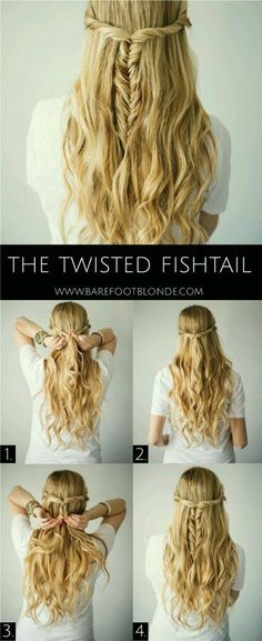 Twisted waterfall fishtail