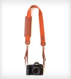Leather Camera Strap – Sweet Potato